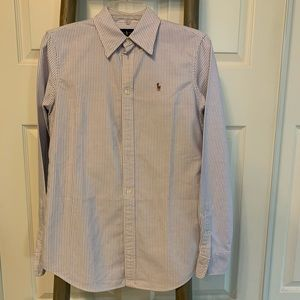 Striped Polo Button Down shirt